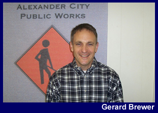 Gerard Brewer (City Engineer and Director of Public Works)  Suzanne Otralek (Public Works Administrative Assistant)