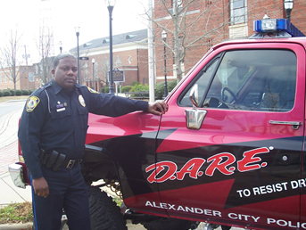 Marcus Billups D.A.R.E. Officer